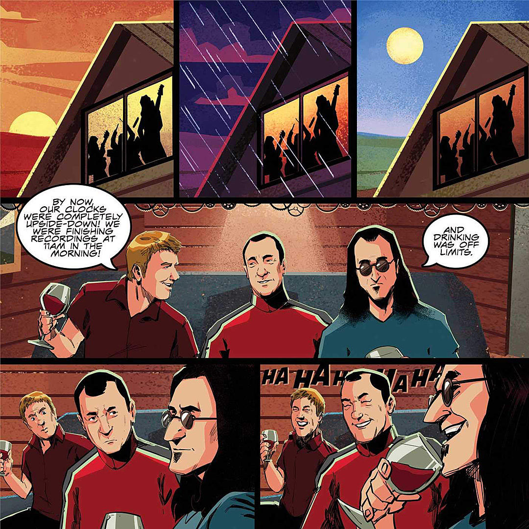 Rush Release 'Making of A Farewell to Kings' Comic Book