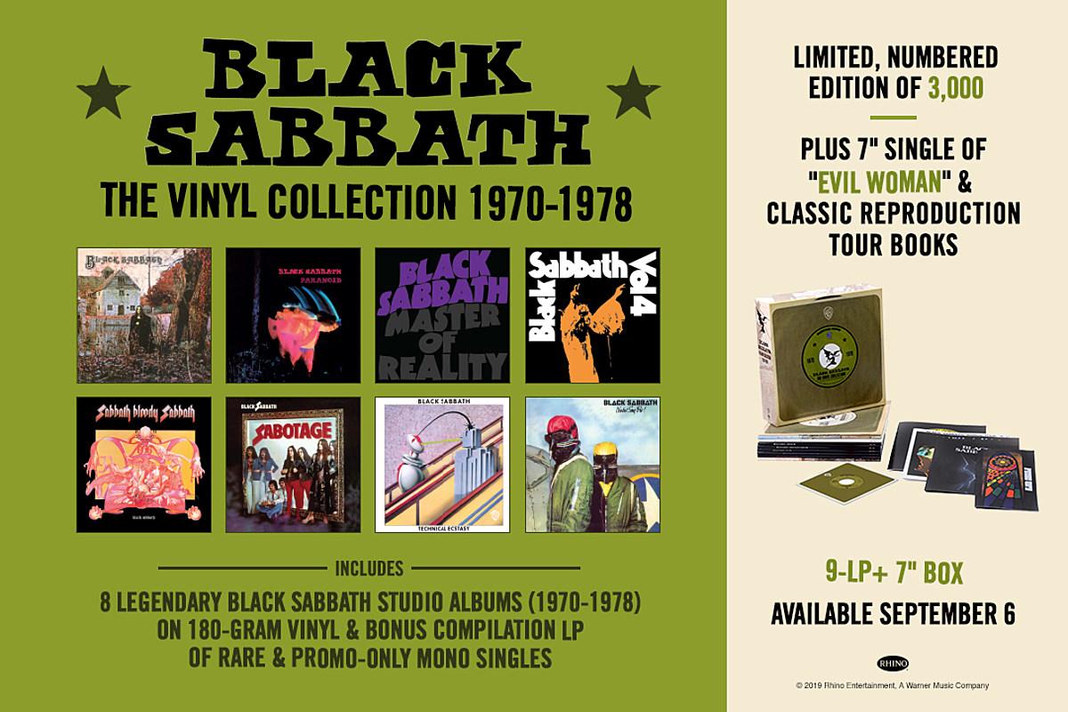Black Sabbath 'The Vinyl Collection 1970-1978′ Available Now