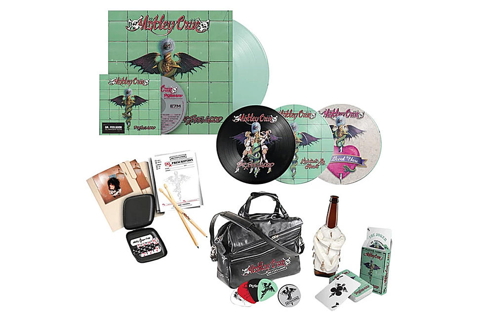 Motley Crue Announce 'Dr  Feelgood' 30th-Anniversary Edition