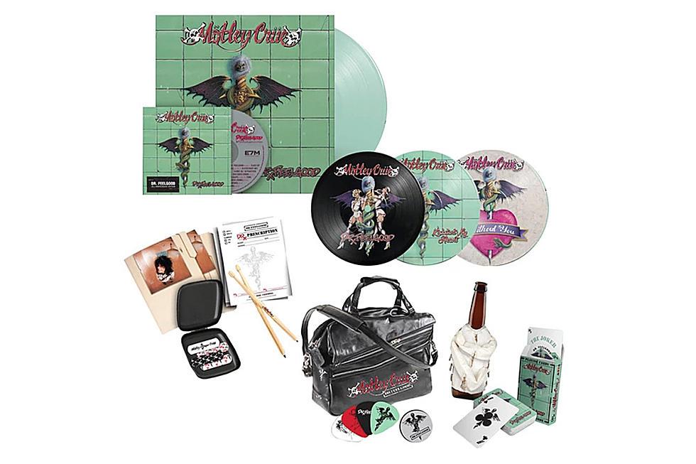Motley Crue Announce 'Dr  Feelgood' 30th-Anniversary Edition