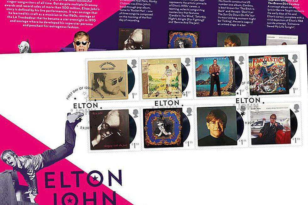 Elton John Celebrated On Royal Mail Postage Stamps