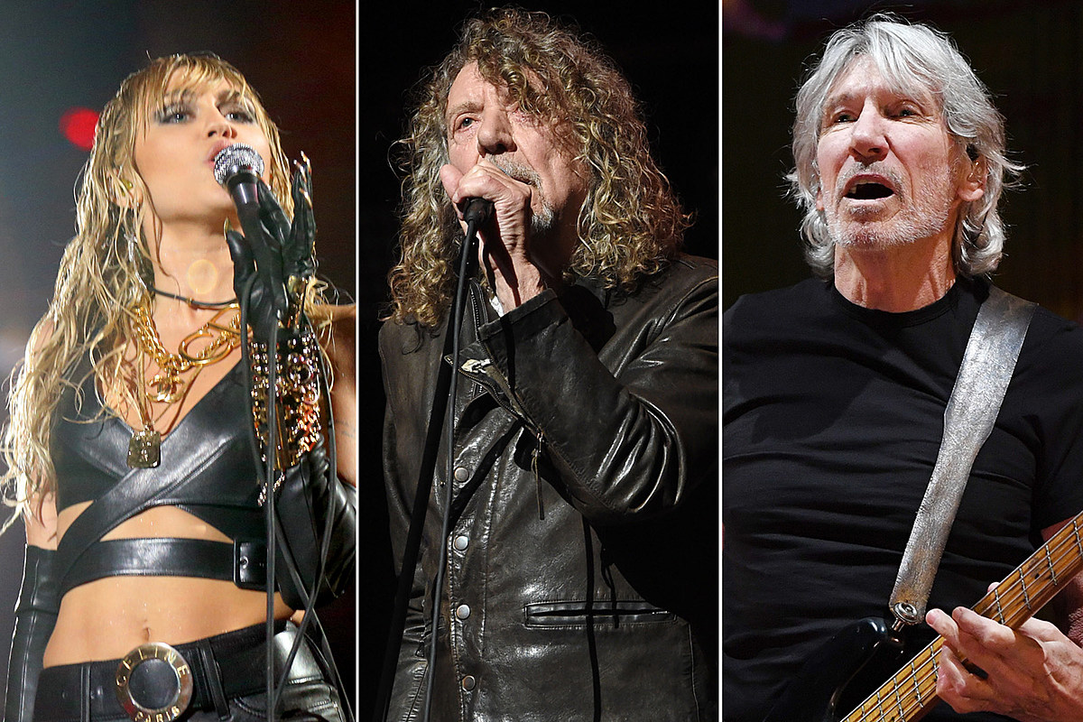 Watch Miley Cyrus Cover Led Zeppelin and Pink Floyd