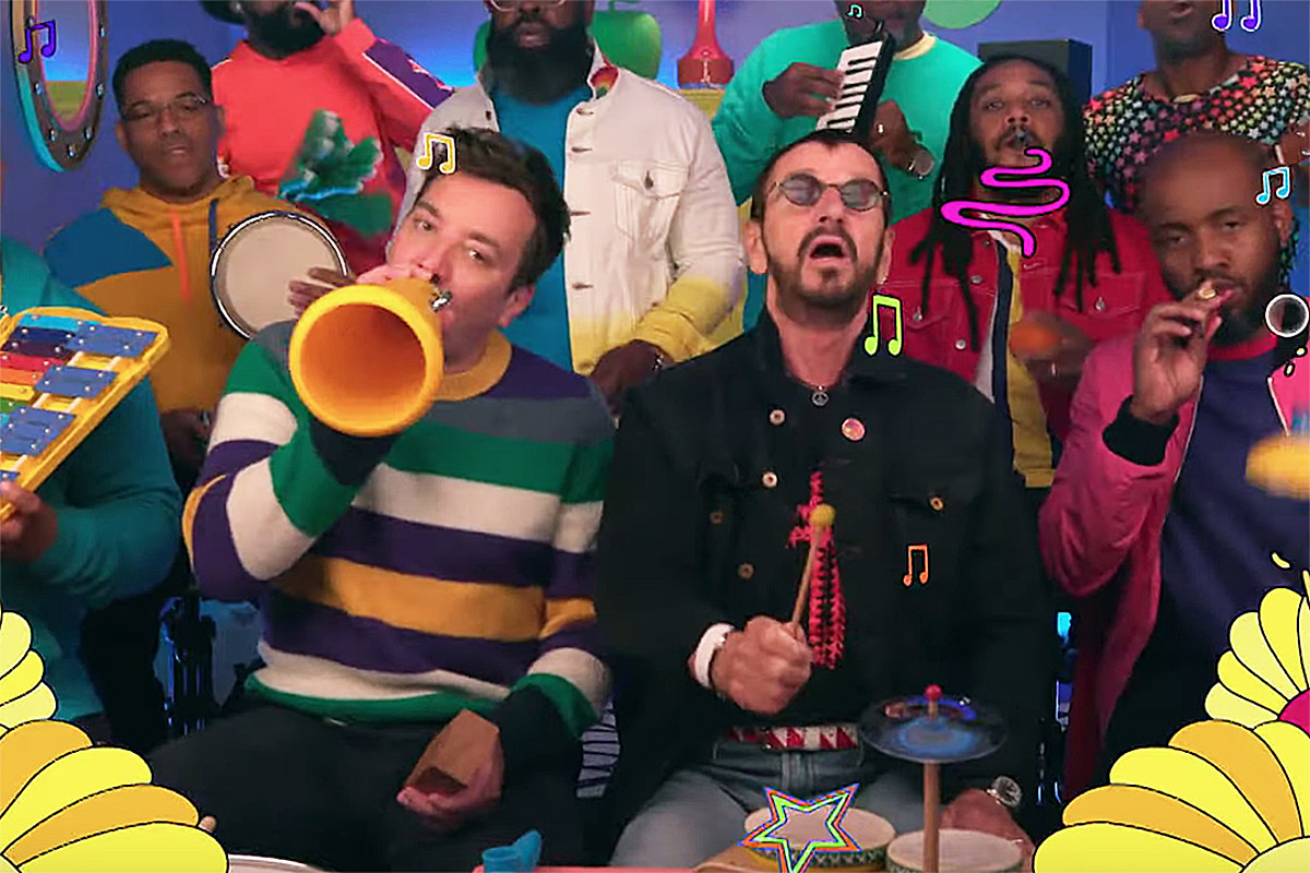 Watch Ringo Starr Play 'Yellow Submarine' on Toy Instruments