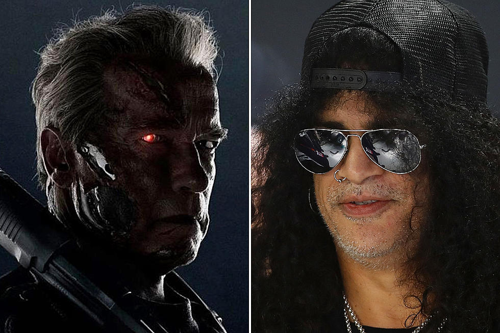 Slash Shoots Down Guns N' Roses 'Terminator' Song Rumor