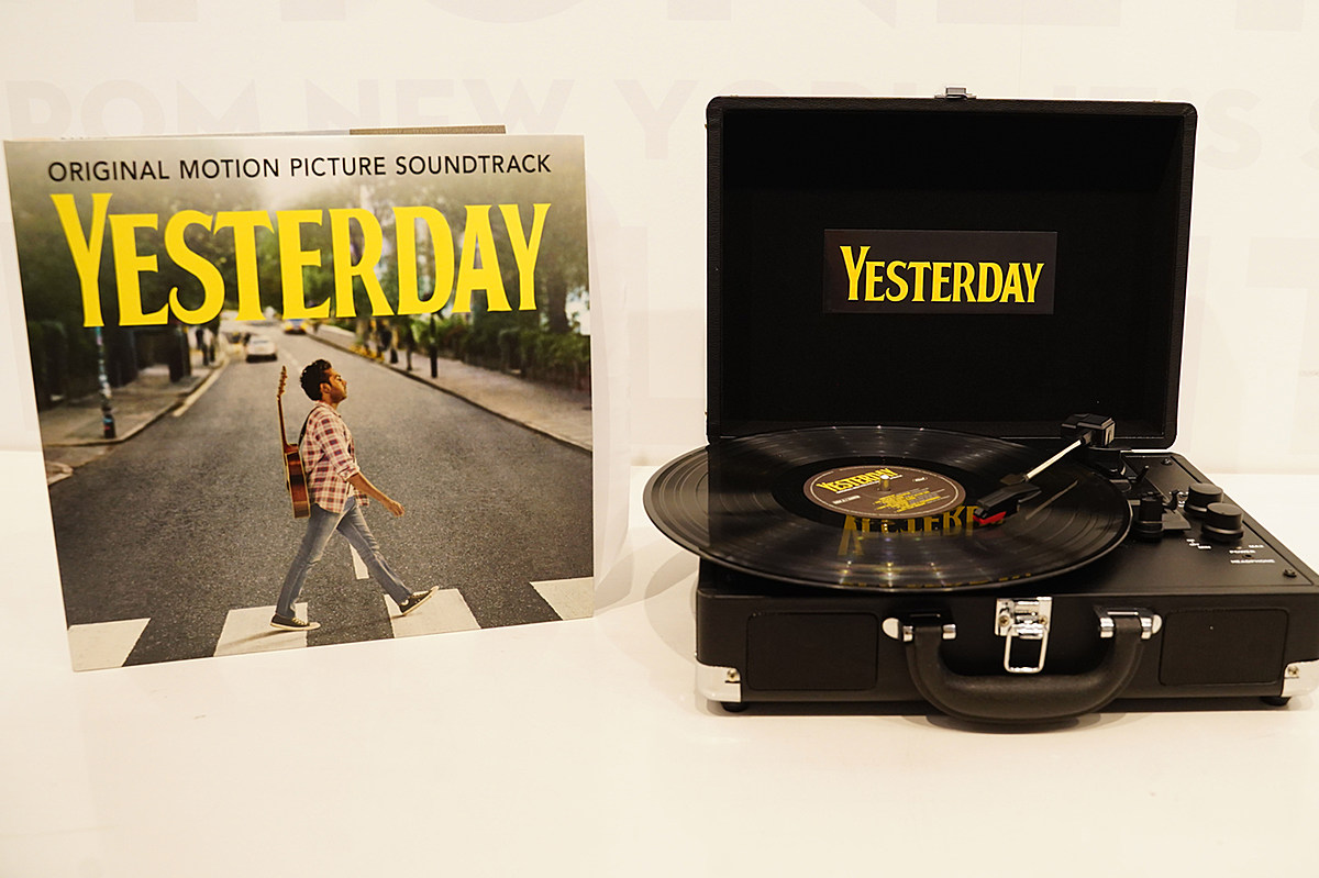 Win a 'Yesterday' Record Player, Soundtrack and Movie Prize Pack