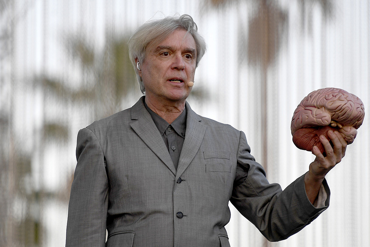 David Byrne Says 'American Utopia' Is 'Incredibly Liberating'