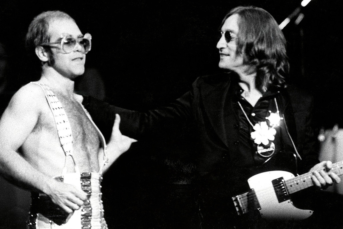 Elton John Rewrote 'Imagine' to Tease John Lennon