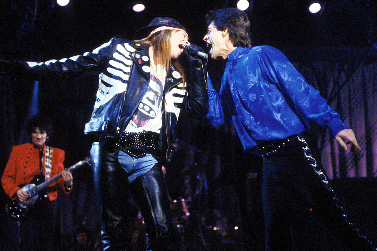 30 Years Ago: Chaos Reigns as Guns N' Roses Open for the Stones