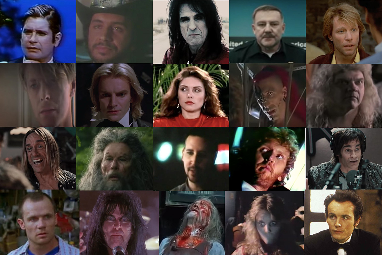 68 Horror Movies Featuring Rock Stars