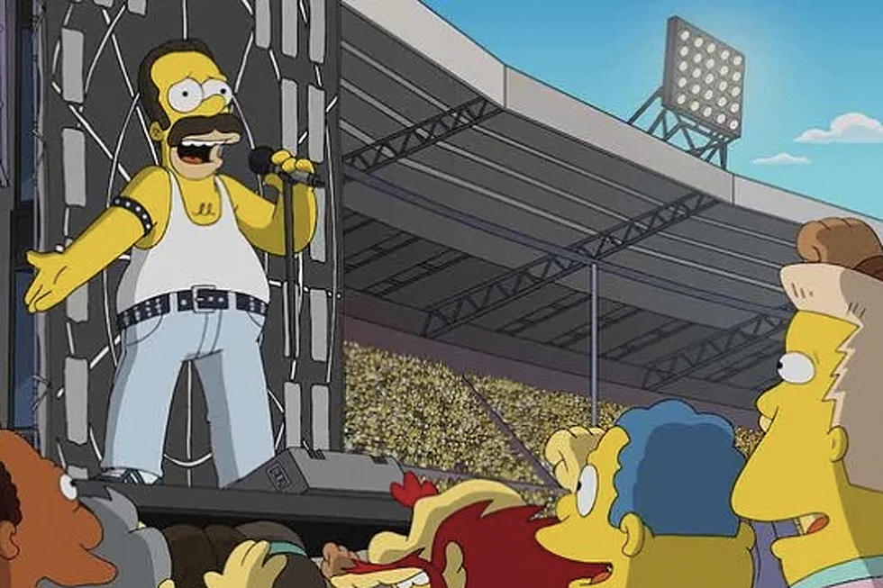 The Simpsons To Recreate Queens Live Aid Performance