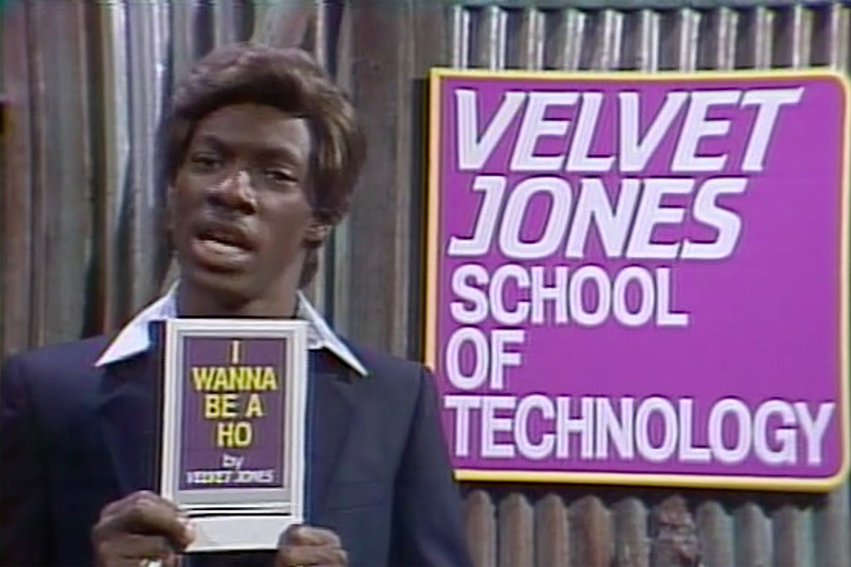 When Eddie Murphy Debuted Velvet Jones on 'Saturday Night Live'