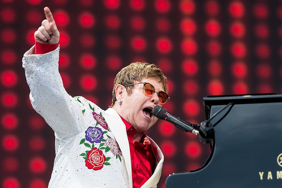 Elton John Says He Likes Being 'Normal' but 'Grander'