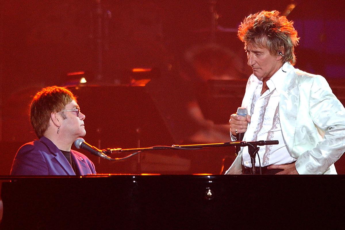 Elton John Recalls Shooting Down Rod Stewart Blimp