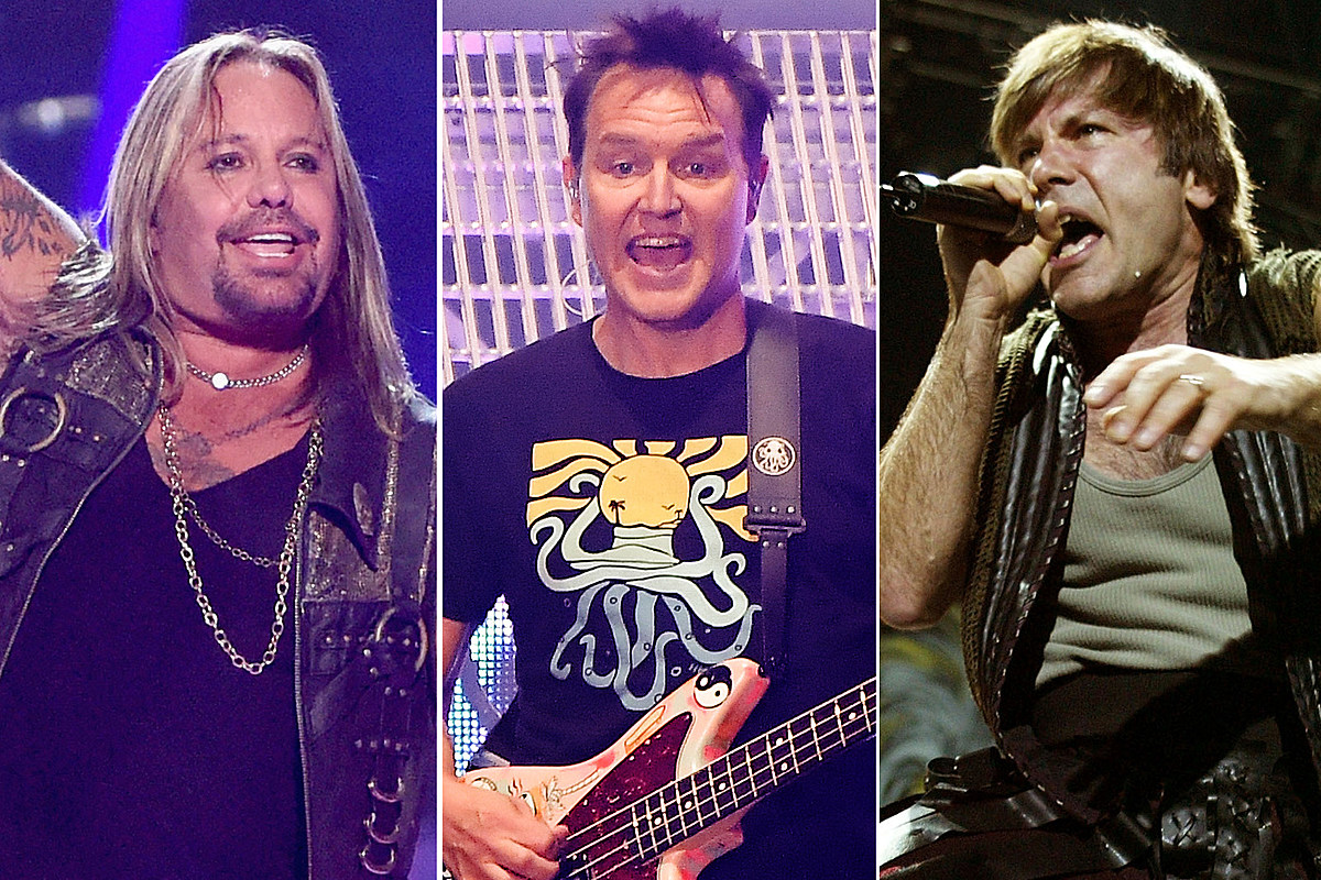 Motley Crue, Blink-182 and Iron Maiden Lead Rock Hall Fan Poll
