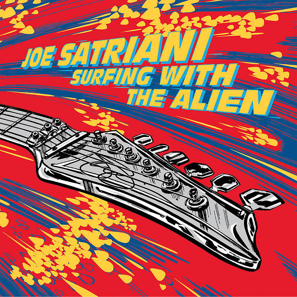 Joe Satriani to Re-Release 'Surfing With the Alien' Without