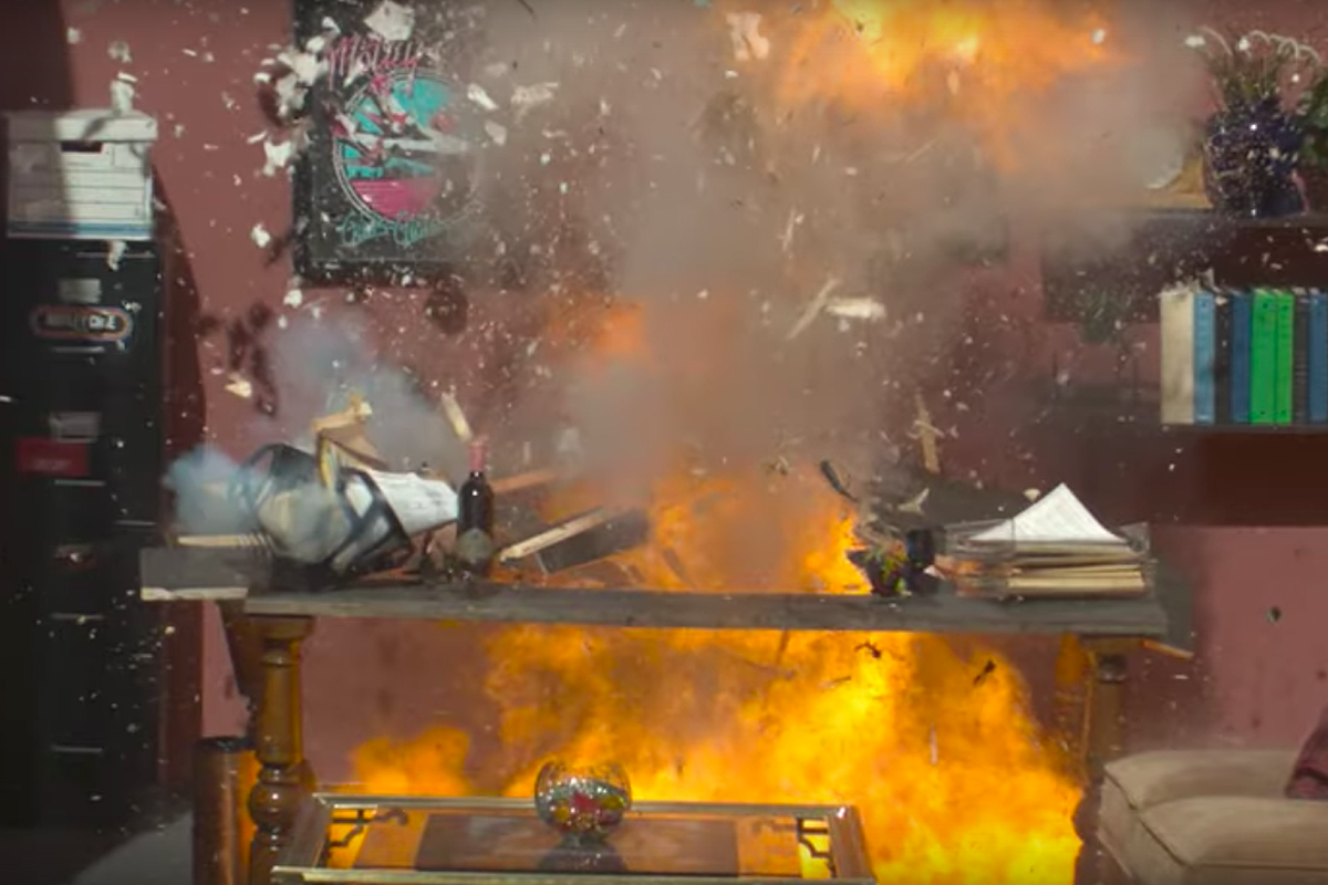 Watch Motley Crue Blow Up 'Cessation of Touring Agreement'