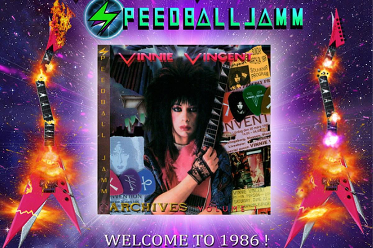 Vinnie Vincent Offers $250 'Speedball Jamm' CD Re-Release