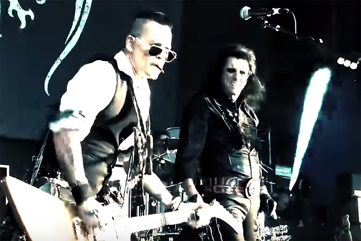 Watch Hollywood Vampires' New Video for 'I Want My Now'