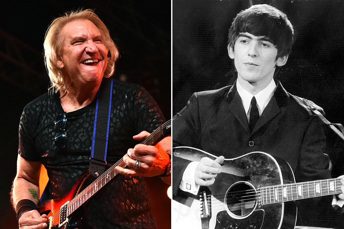 Joe Walsh Channeled George Harrison for John Lennon Song