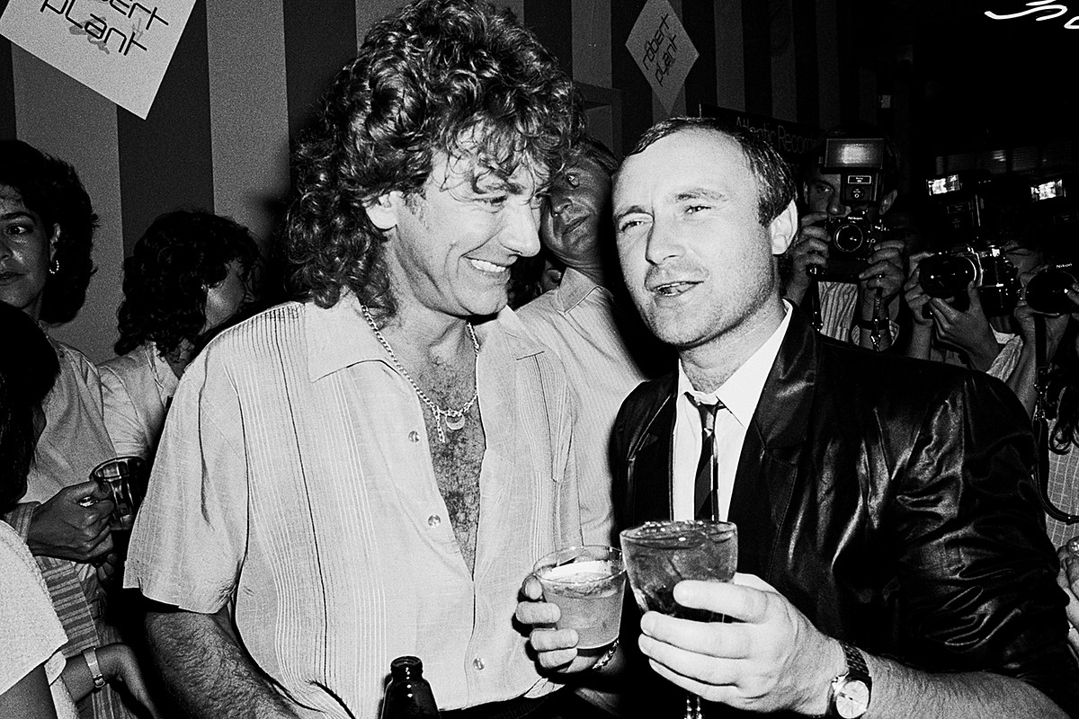 How Phil Collins Shaped Robert Plant's Solo Career