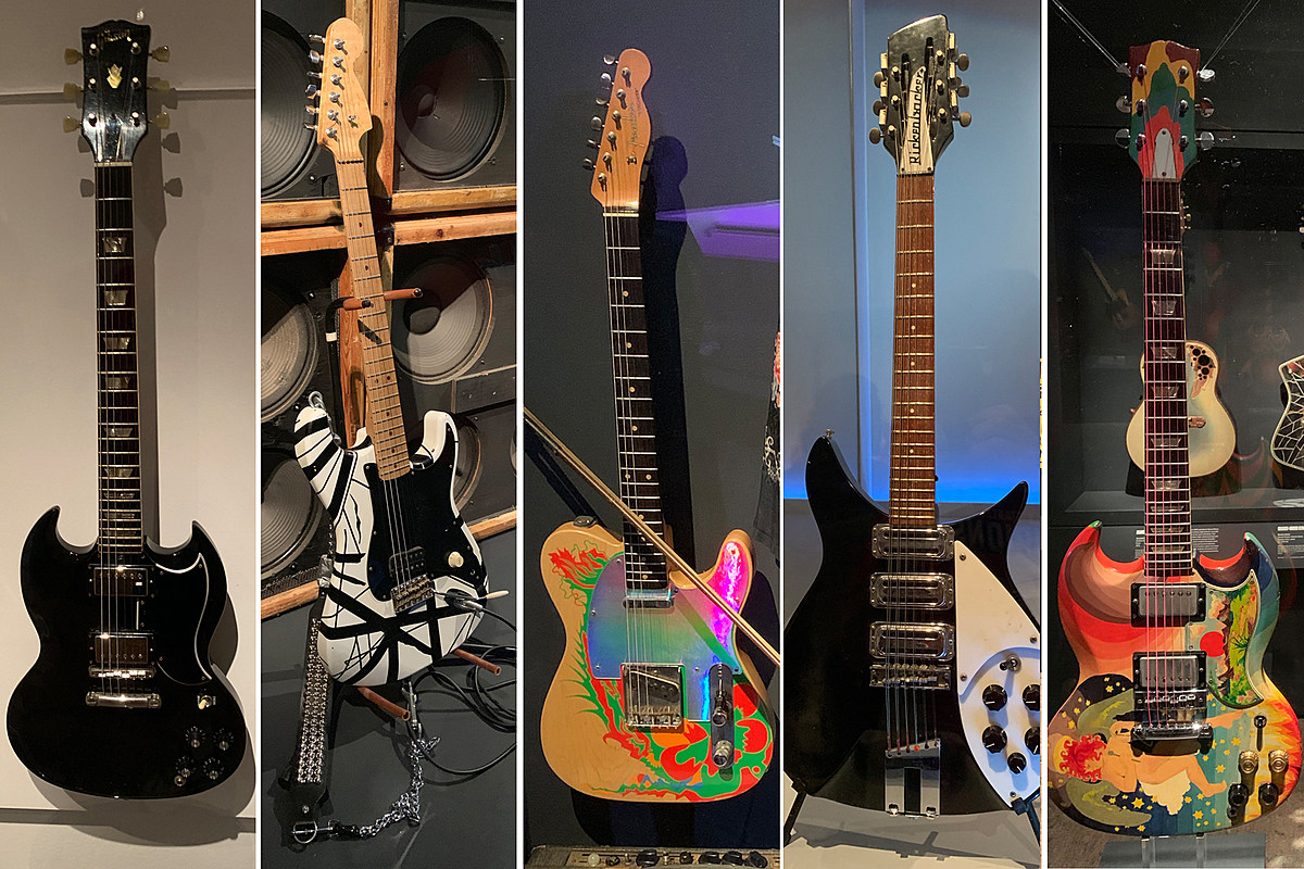 Rock Hall Celebrates Guitars and More in 'Play It Loud' Exhibit