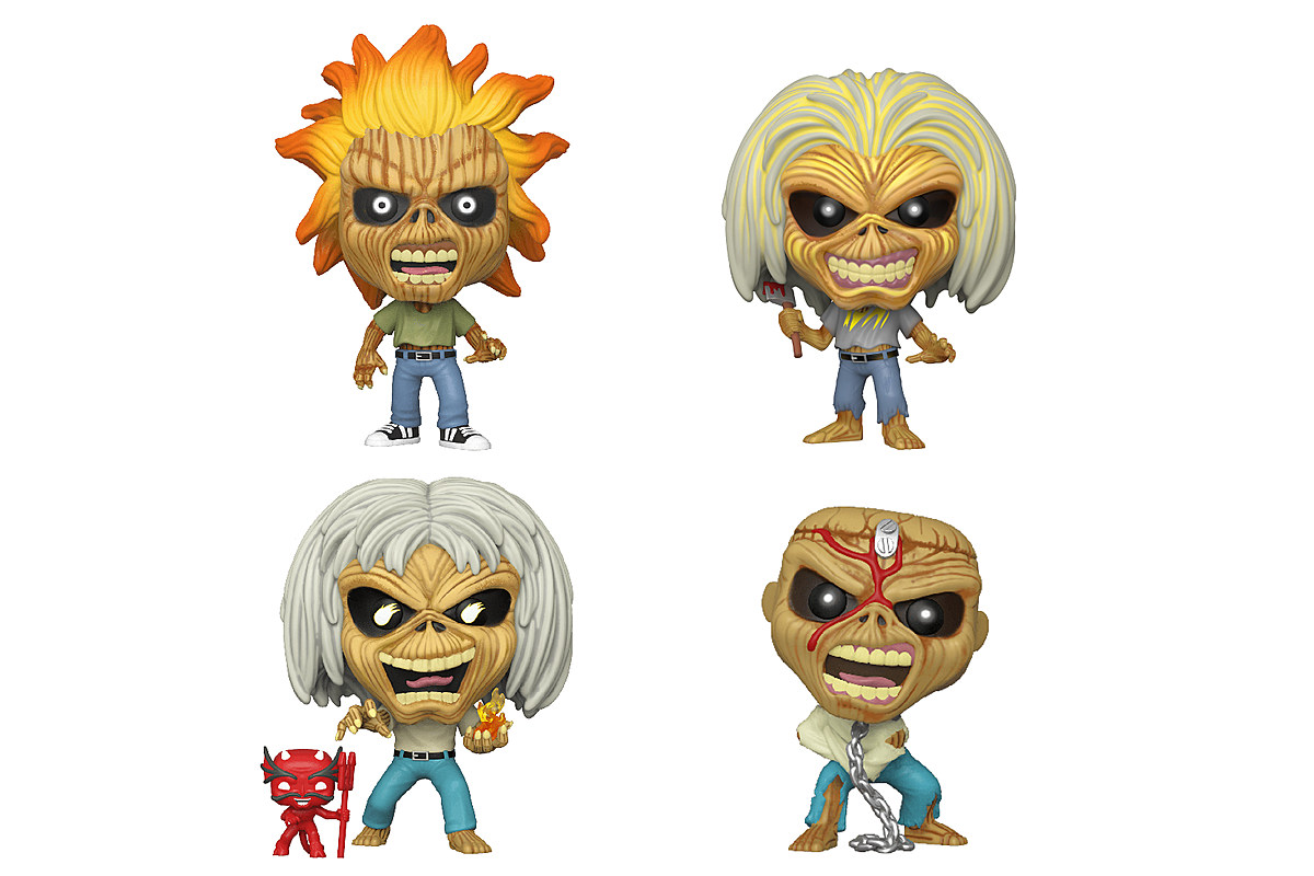 Iron Maiden Funko Pop! Figures Revealed