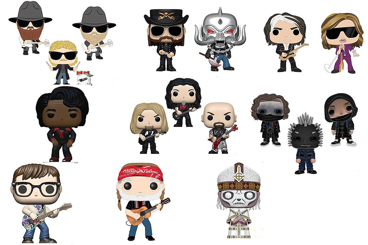 Aerosmith, ZZ Top, Lemmy Lead New Series of Funko Pop! Figures