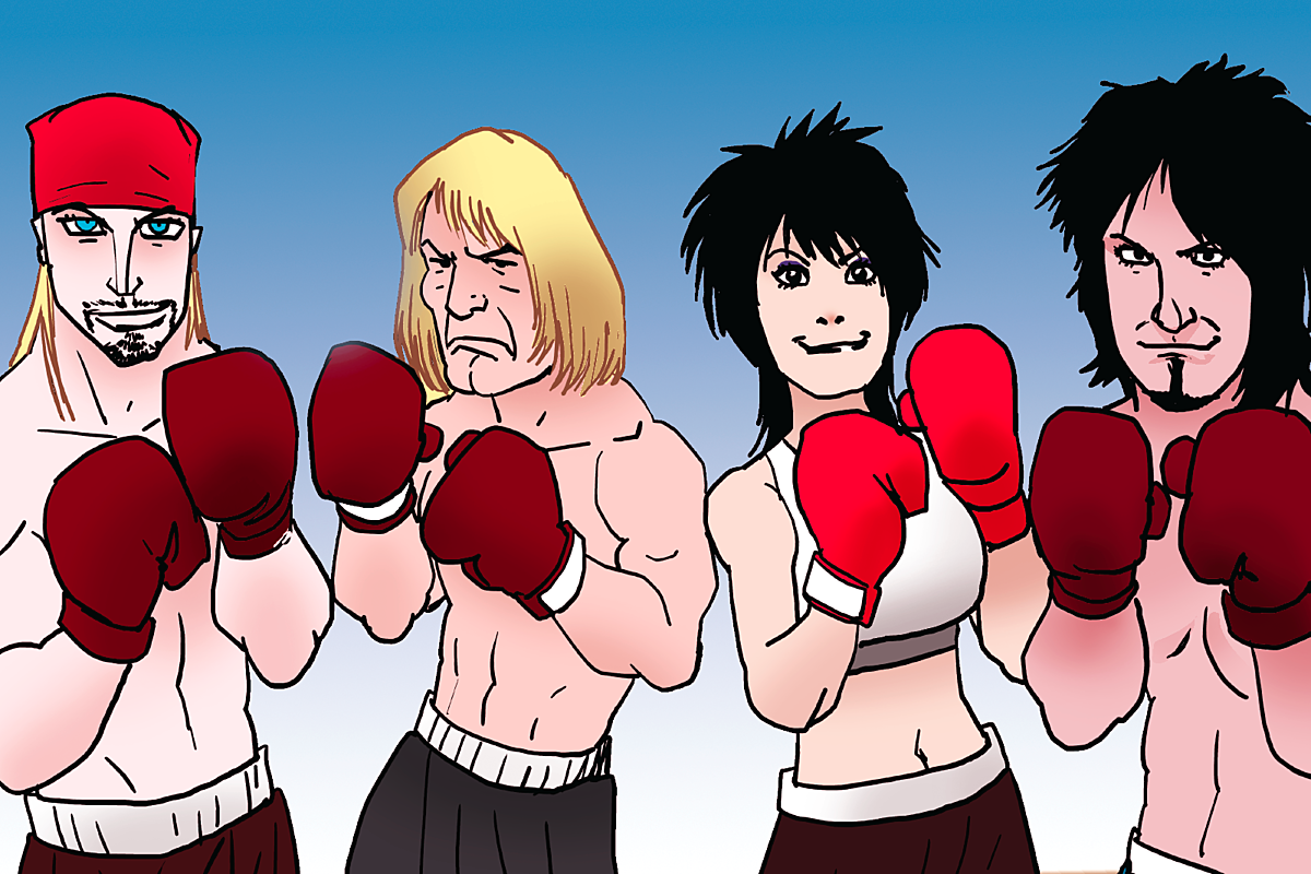 Motley Crue, Def Leppard, Poison and Joan Jett: Tale of the Tape
