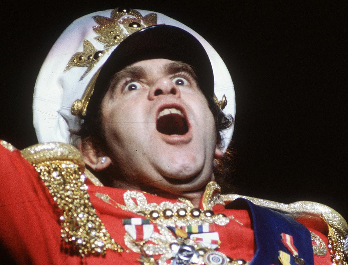 Elton John Says 'Diva' Reputation Came From Drugs