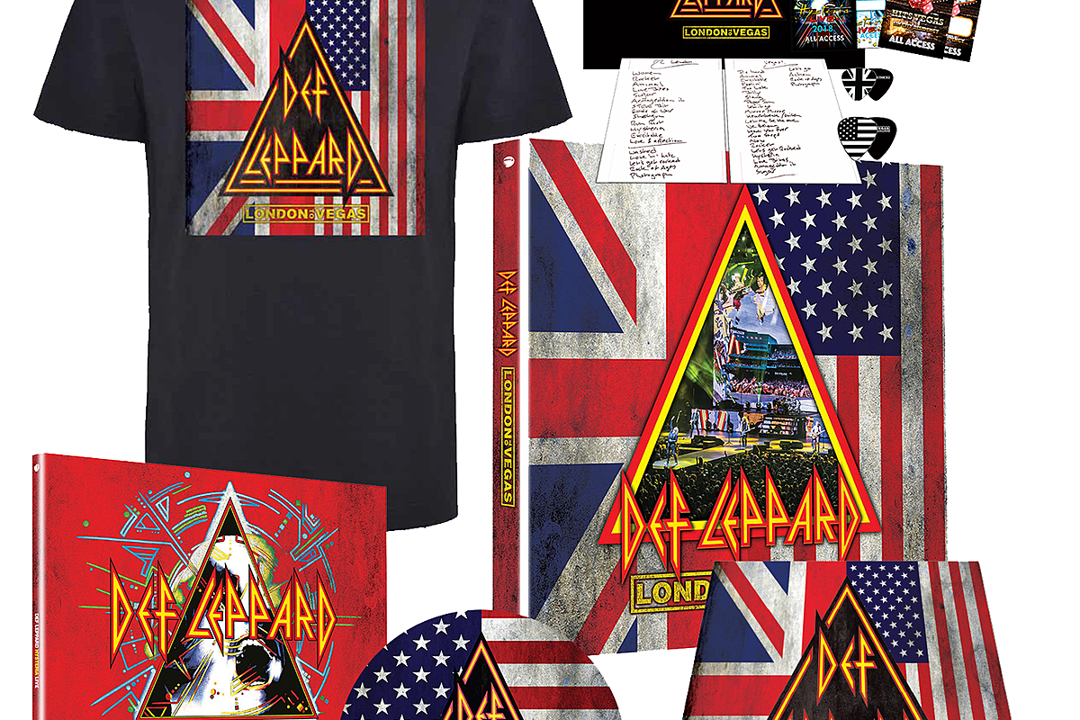 Def Leppard to Release 'London to Vegas' Live Set