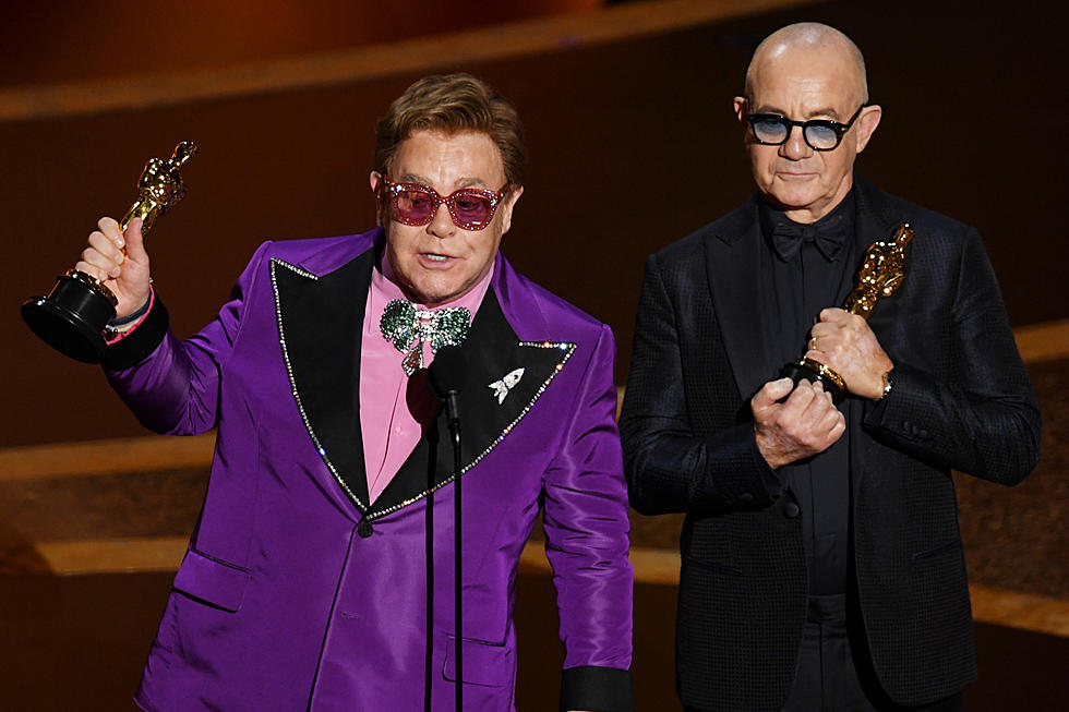 Elton John Bernie Taupin Win Academy Award For Rocketman Song