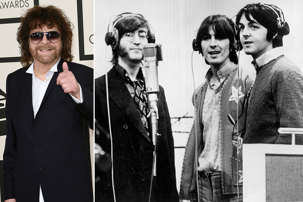 Jeff Lynne Recalls Visiting The Beatles At Abbey Road