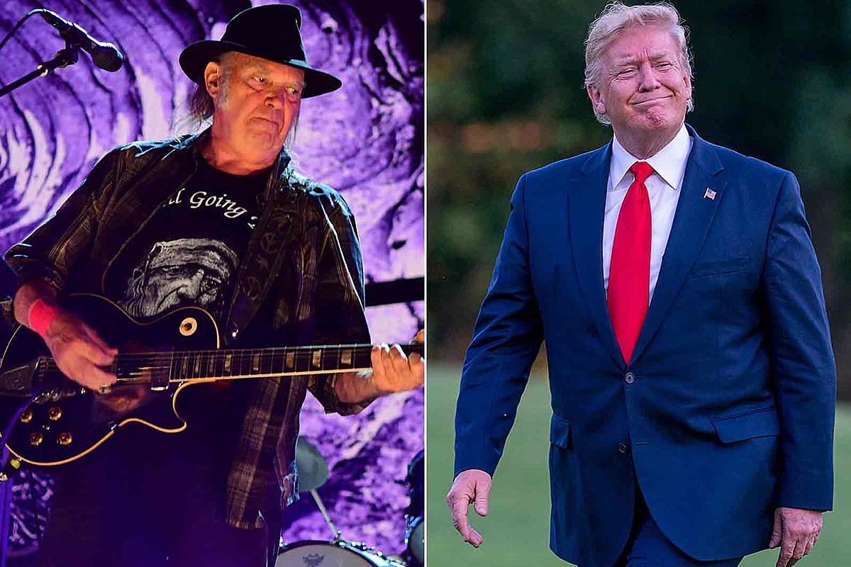Neil Young to Donald Trump: 'You Are a Disgrace to My Country'