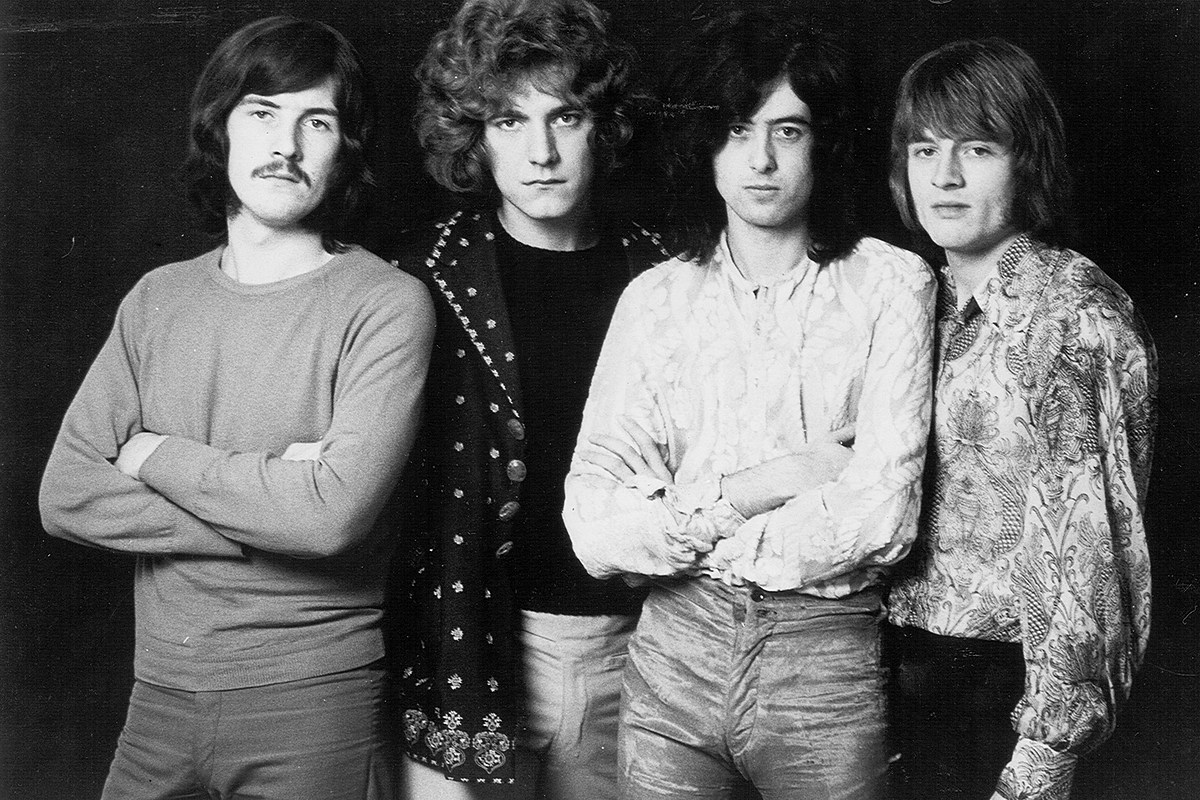 Jimmy Page Recalls Led Zeppelin's First Rehearsal