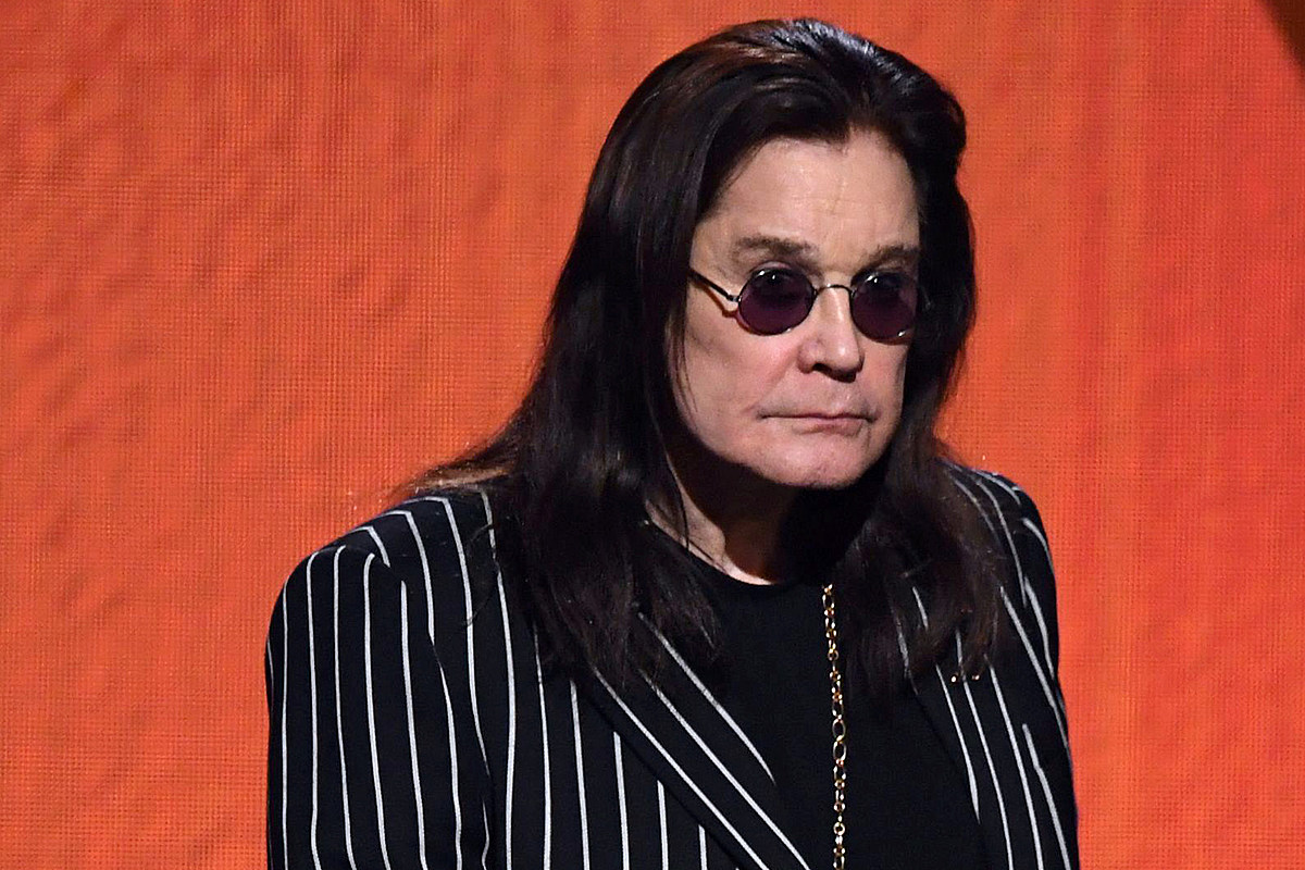 Ozzy Osbourne Forced to Cancel Trip For Parkinson's Treatment