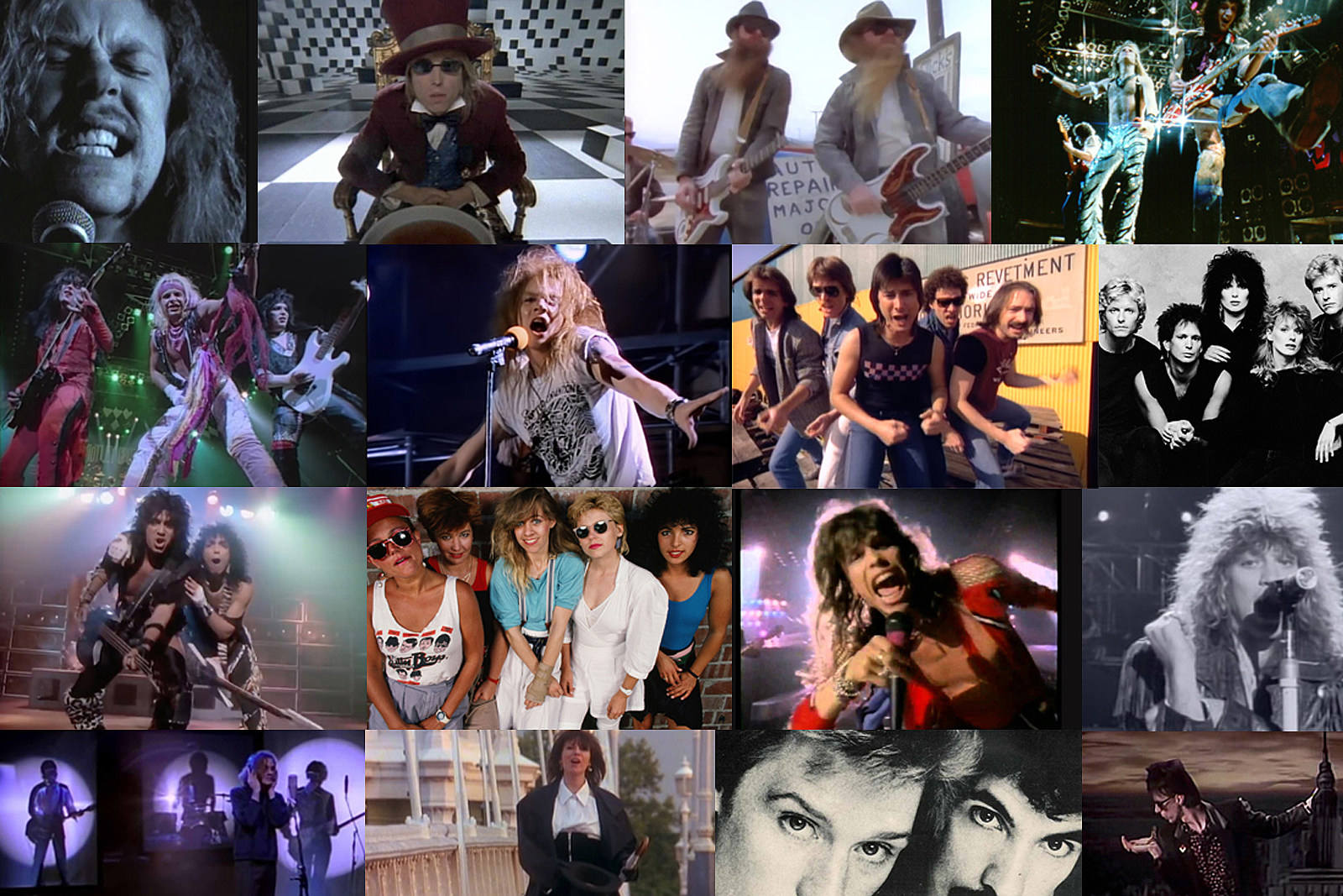 Top 20 American Classic Rock Bands of the '80s