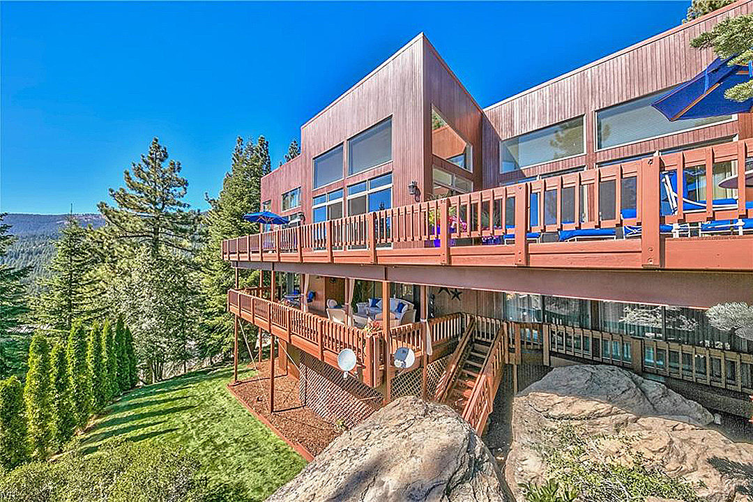 David Coverdale Lowers Price For His Lake Tahoe 'Paradise' Home