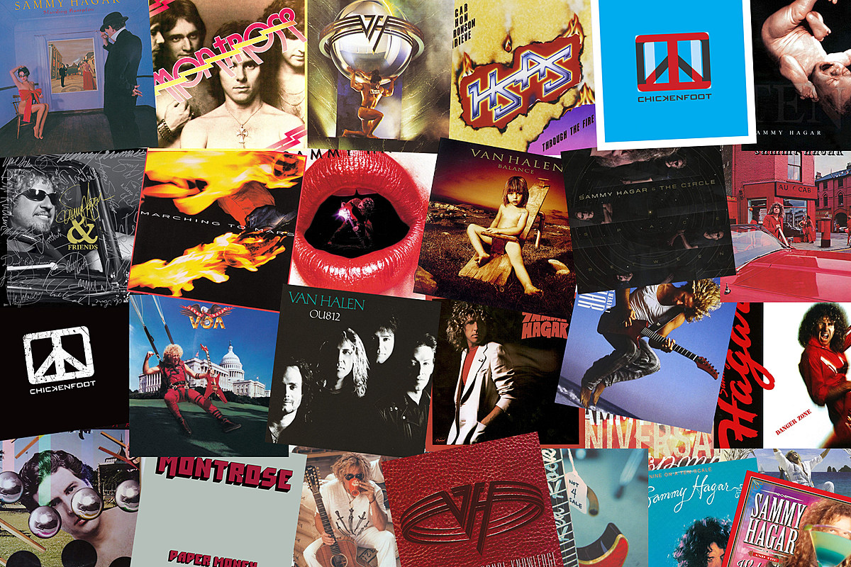 The Best Song From Every Sammy Hagar Album, Solo or With a Band