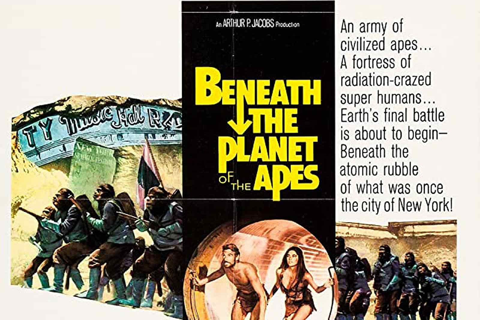 50 Years Ago: 'Beneath the Planet of the Apes' Goes Underground