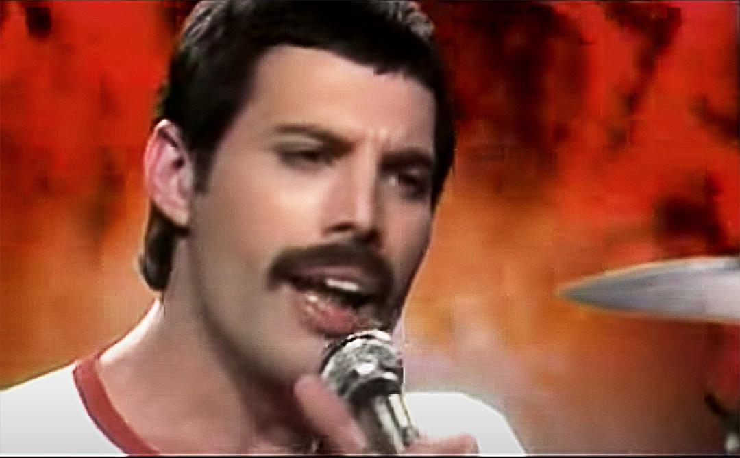 The Day Freddie Mercury Mustache Appeared
