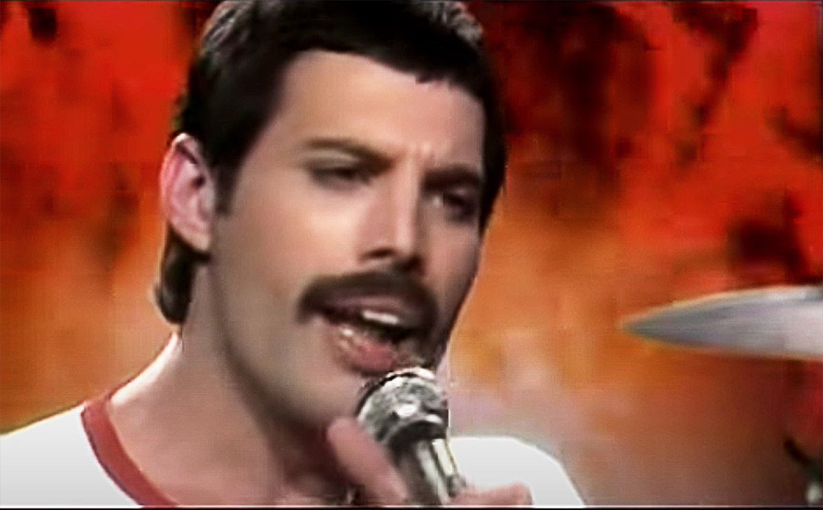 The Day Freddie Mercury's Mustache Appeared