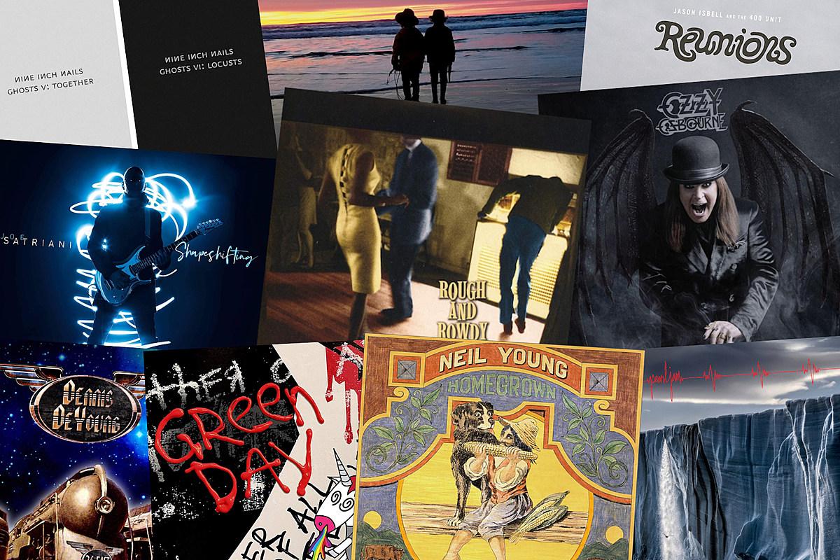 2020 album collage Best Albums of 2020 (So Far)