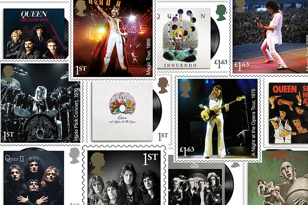 Queen Commemorated With 13 New Postage Stamps