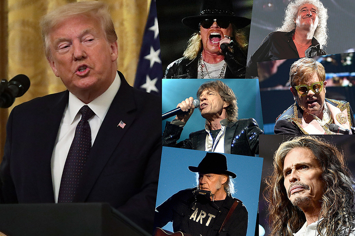 Untitled 13 Rockers Who Told President Trump to Stop Using Their Songs