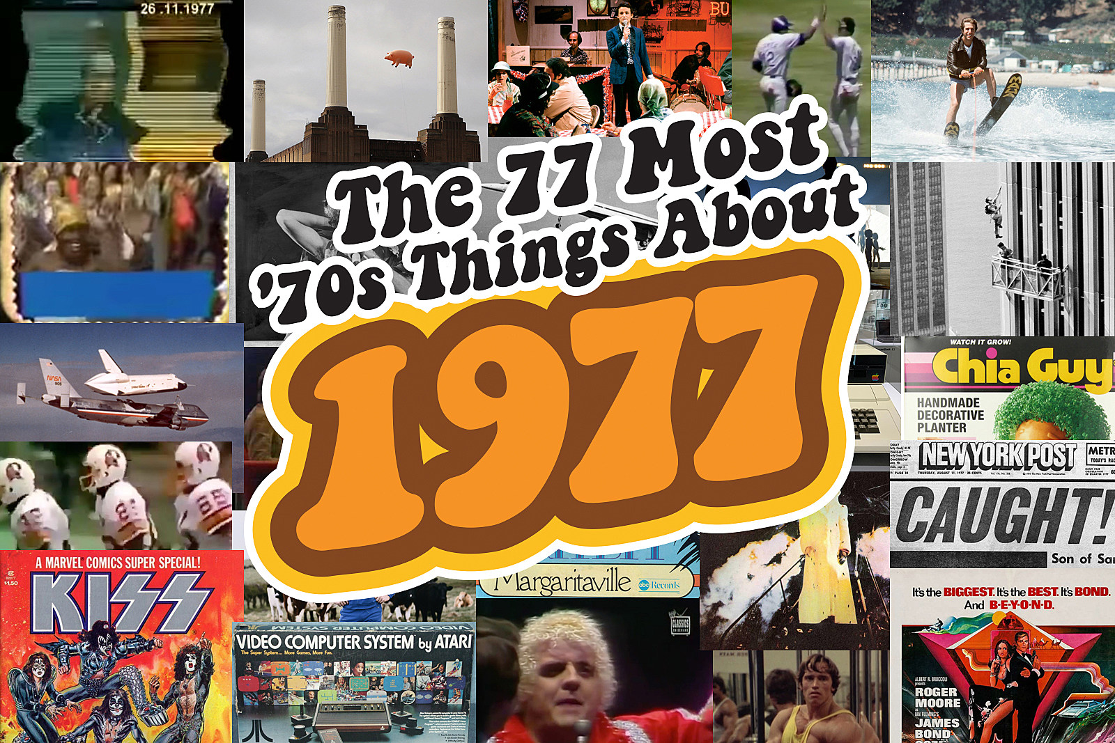 The 77 Most '70s Things About 1977