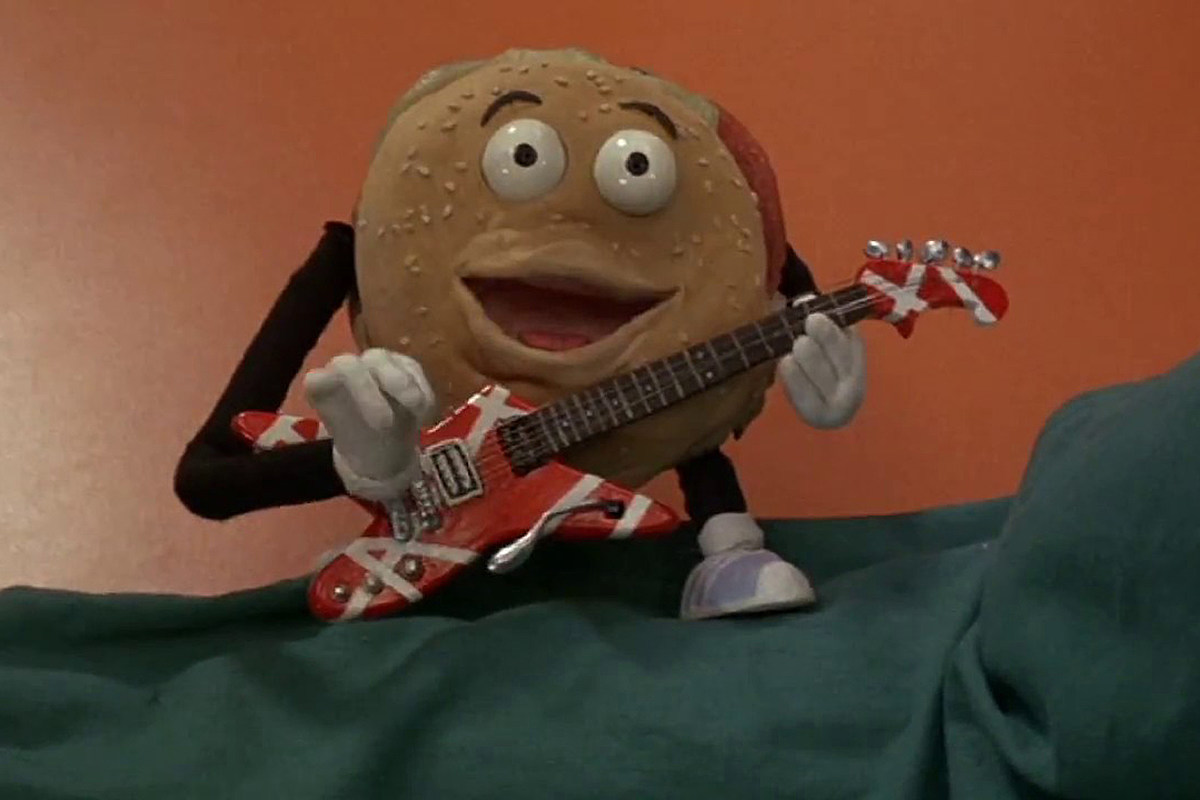 BetterOffDead How Van Halen Brought a Hamburger to Life in 'Better Off Dead'