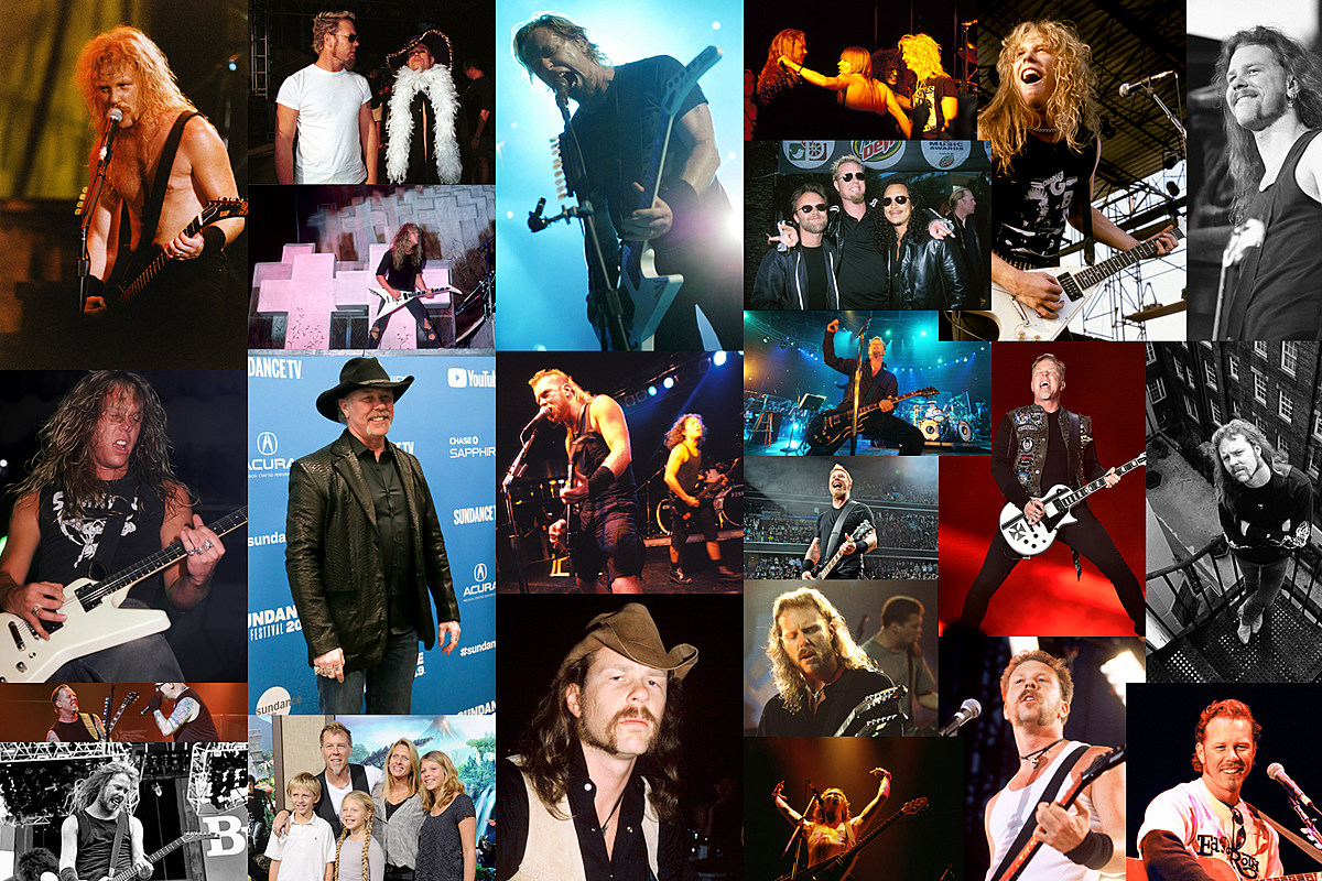 James Hetfield Year by Year: Photos 1984-2020