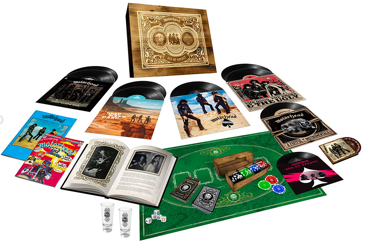 Motorhead's 'Ace of Spades' to Get 40th-Anniversary Vinyl Box Set
