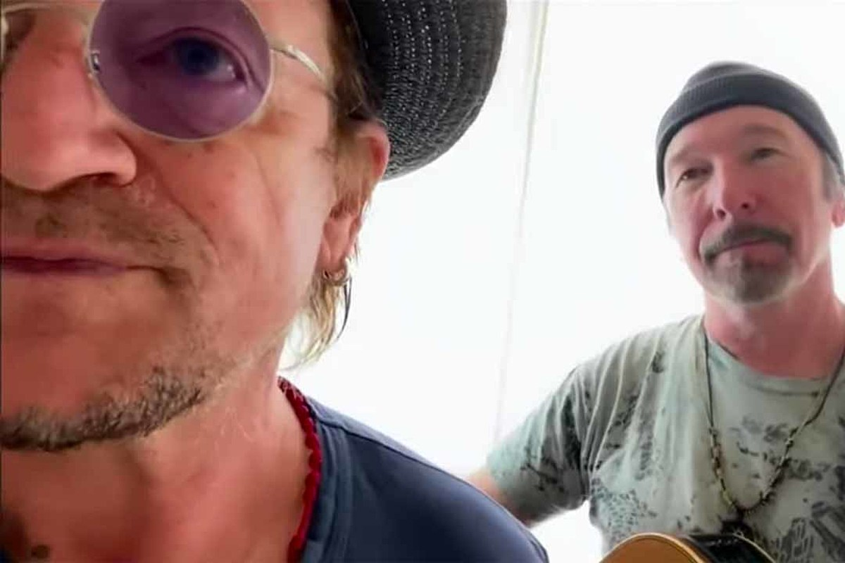 Watch Bono and the Edge Perform 'Stairway to Heaven'