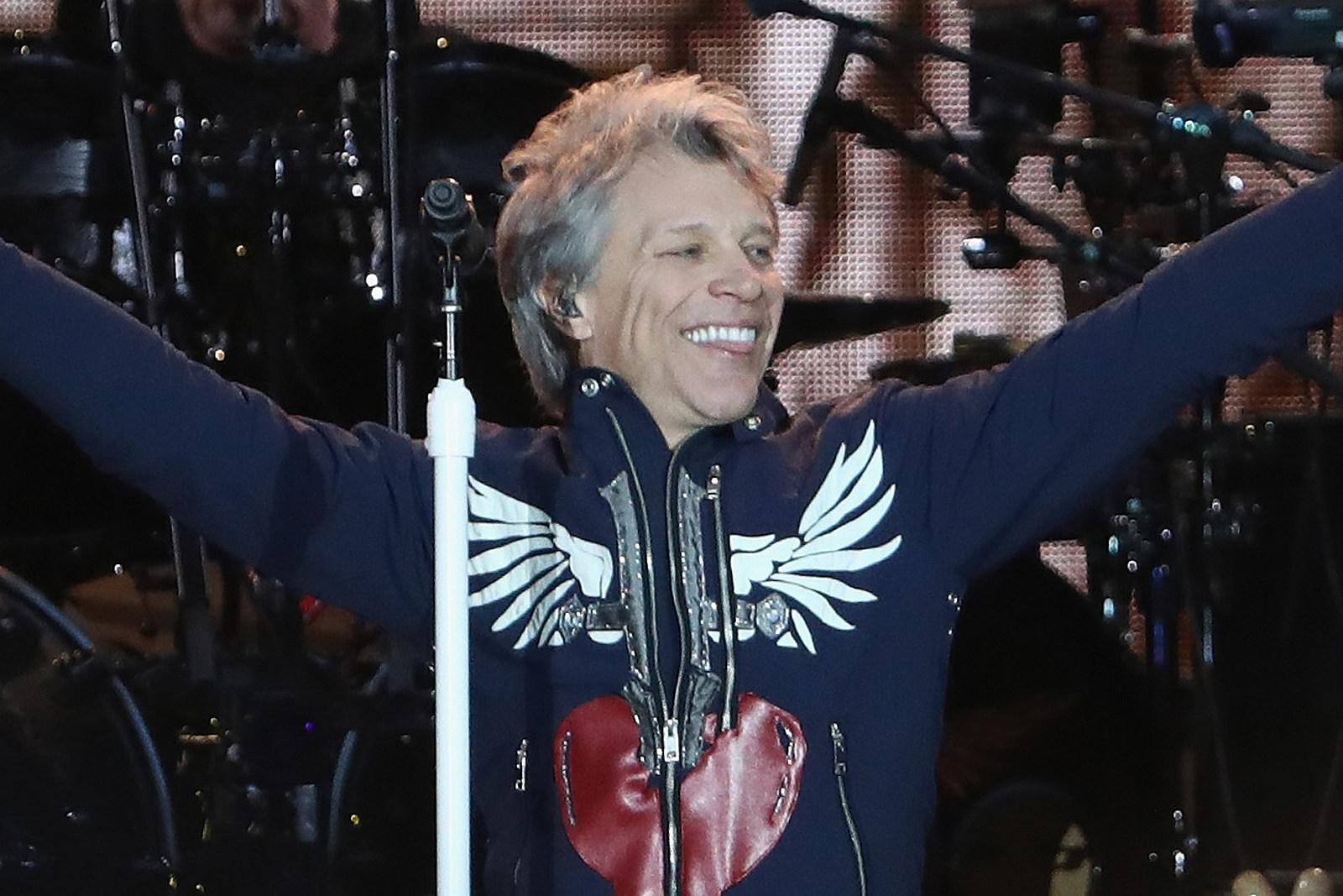 Jon Bon Jovi Announces Free Livestreamed Show